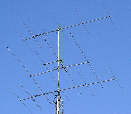 新アンテナ 6el Stack+2el