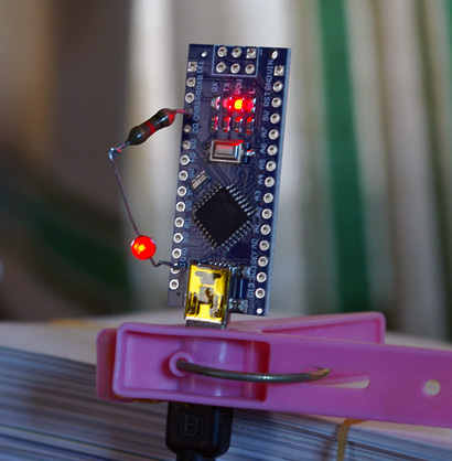 Arduino Nano in L-Chika